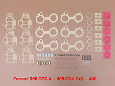 FERRARI 365 GTC 4 - GT4 2+2 - 400 - WEBER 38 DCOE  JOINTS - REPAIR KIT -