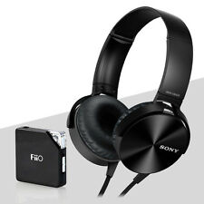 NEW Sony MDR-XB450AP Xtra Bass Overhead Headphones BLACK