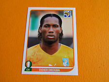 542 DROGBA COTE D'IVOIRE PANINI FOOTBALL FIFA WORLD CUP 2010 COUPE DU MONDE