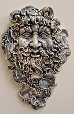 Large Green man Spirit of Nectar Celtic Mythical Wall Decor Overstock