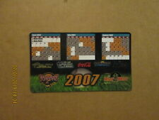 GBL Golden Baseball league Yuma Scorpions Vintage Defunct 2007 Magnet Schedule