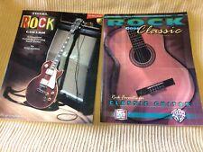 Rock Guitar Instructional Books Mel Bay & Hal Leonard Slightly Used. Great Shape