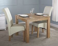Oak Square Up to 2 Seats Kitchen & Dining Tables