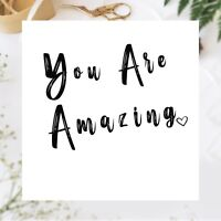 You Are Amazing Congratulations, Well Done, Exam Pass Graduation, New Job Card