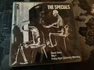 """The Specials Ghost Town & Do Nothing 7"""" Vinyl 1980/81  2 Two Tone"""