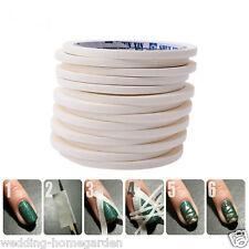 12m Manicure Nail Art Tips Adhesive Tape Sticker Guide Stencil Tape Roll Sticker