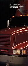 Prospekt International trucks tractors Full Line 1992 brochure 9700 8100 2000 ua