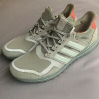 Adidas Men's Ultraboost S&L EF1978 Raw Khaki Red Running Shoes Size 15
