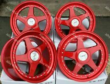 "18"" RED 04 Alloy Wheels Fits Bmw 3 5 6 7 8 G Series Models Only See list W-R"