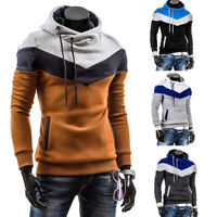 Men's Slim Hoodie Jumper Pullover Jacket Warm Hooded Sweatshirt Coat Outwear