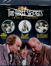 New BluRAY - THREE STOOGES - Meet Hercules + Outlaws is Coming + Around t World