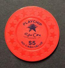 $5 Star city Sydney play chip