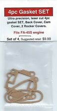 Aftermarket 4pc Gasket SET fits Saito FA-45S Engine-NIP