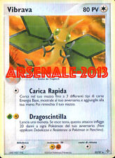 CARTA POKEMON - VIBRAVA - RARA REVERSE 22/97 (EX DRAGON) NUOVA MINT