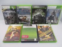 Xbox 360 Game Lot Of 7 Games - Destiny, Wanted, Fallout 3, Resident Evil