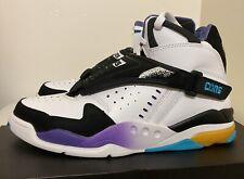 Converse Aero Jam Mid 2014 White Black Mens Sz 11 Larry Johnson Hornets NEW!!!