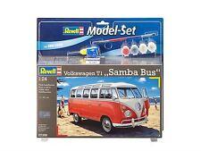 Revell - VW T1 Samba bus 1:24 Modelo Set - rev67399
