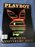 Playboy Magazine January 1994 40th Anniversary Issue Collector's Edition