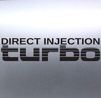 Direct Injection Turbo Stickers Toyota Landcruiser 4WD 4x4 Sticker Australian