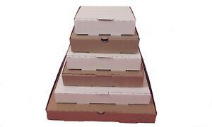 Plain Pizza Boxes,Takeaway Boxes,Good Quality Light Postal Boxes  5 - 14 inch