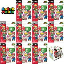 Lot of 10 - K'nex Super Mario Buildable Collectible Figure Blind Bag Series 10