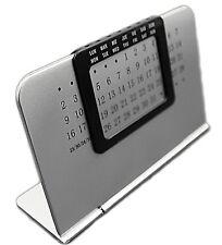 Sleek Perpetual Desktop Calendar Everlasting Home Office Stand Alone Work Desk