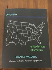 Geography: United States of America: Prepare for the National Geography BEE