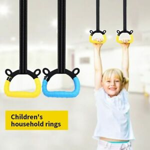 Gymnastic Rings for Kids Gym Rings Straps Equipment for Home Gym Train Workout