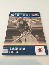 2015 Panini Contenders Aaron Judge Fresno State Bulldogs Old School Colors #23