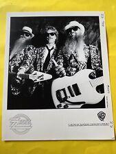 "ZZ Top Press Photo 8x10"", Billy Gibbons, Frank Beard, Dusty Hill, See Info."