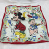 Vintage Hanky Handkerchief Walt Disney Studios Mickey Mouse Singing Pigs Music