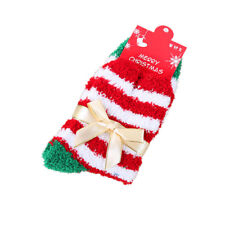Christmas Women Ladies Soft Fluffy Socks Warm Casual Lounge Bedroom Xmas Gifts
