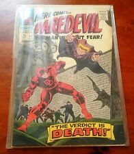 MARVEL COMICS DAREDEVIL # 20 Sept 1966 Verdict of Death & The Owl