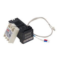 Digital PID Temperature Controller + 40A SSR + K Thermocouple Sensor