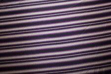 Stripe Silk Charmeuse Print #24 Natural Fiber Bridal Light Weight Fabric BTHY