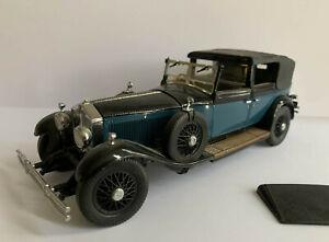 Franklin Mint 1/24 scale Rolls Royce Phantom 1929