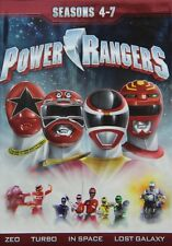 Power Rangers Seasons 4-7 (2013 DVD 21-Disc) LTD 4 5 6 7 Action Adventure SciFi