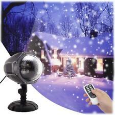 b89bdff1c3d GESIMEI Proyector Luces Navidad LED Efecto Nieve Control Remoto y  Temporizador