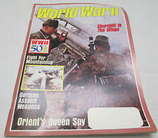World War II 2 Magazine Jan. 1990 Churchill In The Wings German Assault Weapon