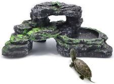 Pinvnby Turtles Dock for Aquarium Reptile Basking Platform Turtles/Frogs/Newts