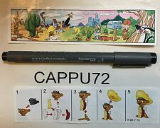 SPEEDY GONZALES (Cartina-BPZ) K98-70 smontabili Looney Tunes  kinder sorpresa