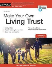 Make Your Own Living Trust by Clifford Attorney, Denis
