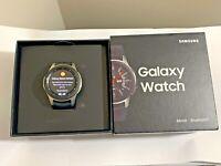 AS-IS Samsung Galaxy Watch SM-R800 46mm Silver Case ** PLEASE READ ** #1