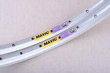 "NOS Mavic 221 clincher 36h MTB 26"" silver rims, Retro MTB"