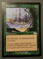 1x Exploration, LP, Urza's Saga, Commander Legacy Play Extra Lands Enchantment