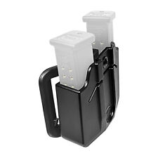 Orpaz Magazine Holster/Magazine Pouch (Belt, Fits 2x Double Stack PLASTIC Mag's)