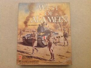 ASL Advanced Squad Leader. Module 5 West of Alamein. Avalon Hill