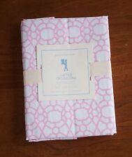 Pottery Barn Kids NWT Lattice Croisillons Girls Pink & White Standard Pillowcase