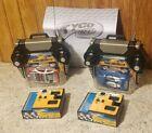 Hot Wheels Tyco R/C Radio Control MOTO-CROSSED Mattel 2003 lot of 2