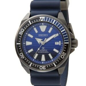 SEIKO Prospex Save The Ocean Samurai  SRPD09K1 Automatic Limited Warranty